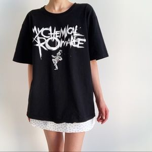 My Chemical Romance shirt from Harajuku